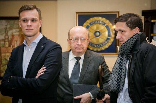 Gabrielius Landsbergis, Andrius Kubilius, Dainius Kreivys