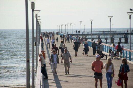 Паланга остается самым популярным курортом в Литве