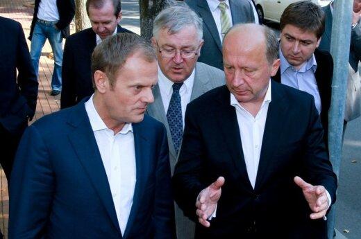 A.Kubiliaus ir D.Tusko susitikimas