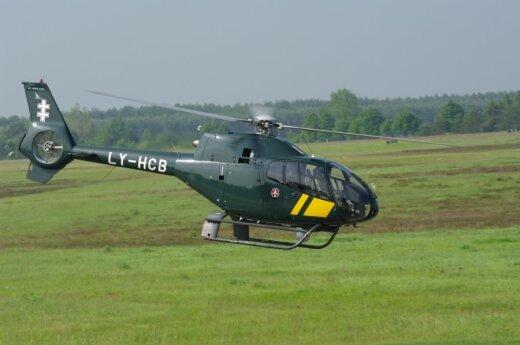 Pasieniečiai neturi, kas suremontuotų sugedusius sraigtasparnius
