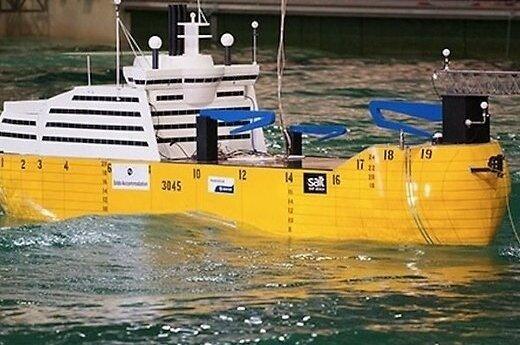 Норвежцы строят судно, полностью устойчивое к качке