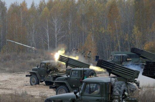 Ukrainos karių pratybos