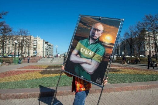 One year after Crimea annexation