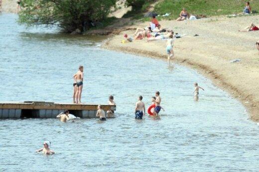 Kauno Lampėdžių paplūdimys