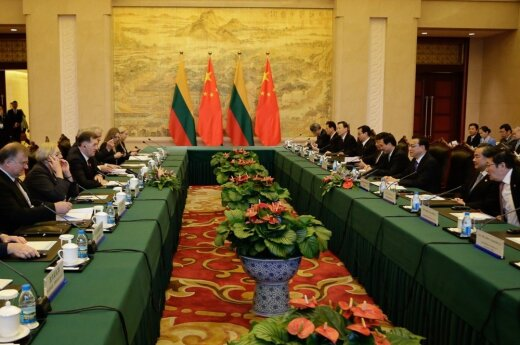 Lithuanian-Chinese relationship presents opportunities for growth - Butkevičius