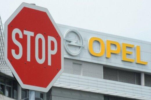"""""""General Motors"""" nusprendė išsaugoti """"Opel"""""""