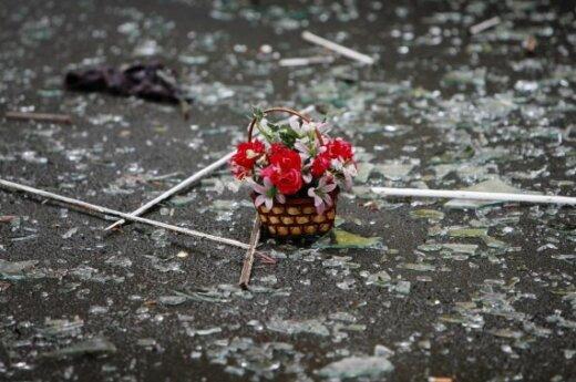 Во Владикавказе траур по погибшим в теракте
