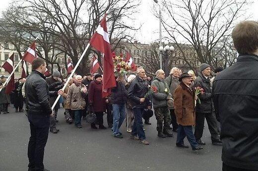Шествие легионеров СС в Риге: до 1500 участников, трое задержанных