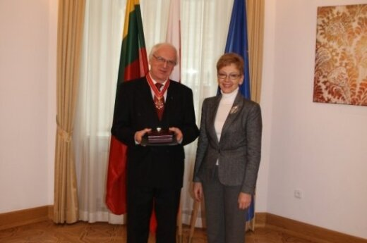 Jerzy Bahr i Loreta Zakarevičienė