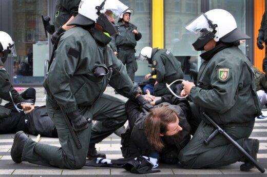 Vokietijos policija suima salafistų judėjimo šalininką