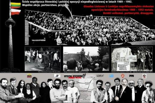 Solidarność z Litwą. Spotkanie polsko-litewskie 1988-1994