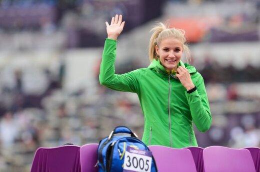 В финале по прыжкам в высоту Пальшите заняла 11-е место