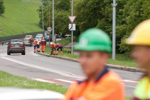 Ograniczony ruch na ulicy Goštauto