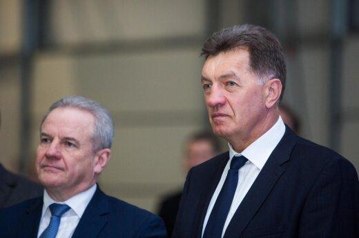 Kęstutis Trečiokas ir Algirdas Butkevičius