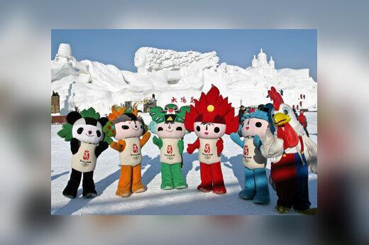 Pekino vasaros Olimpinių žaidynių talismanai