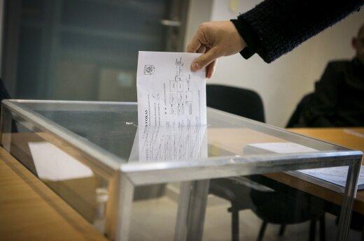 Išankstinis balsavimas antrajame rinkimų ture: rinkėjai apsisprendę