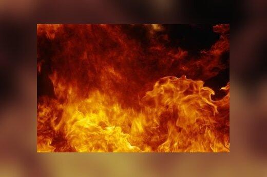 Пожар – в каунасском кафе Avilys
