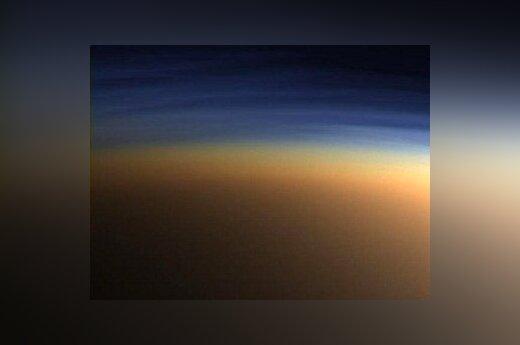Атмосфера Титана Фото NASA