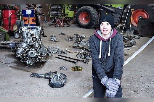 """Датский школьник случайно нашел """"Мессершмитт"""" с останками пилота"""
