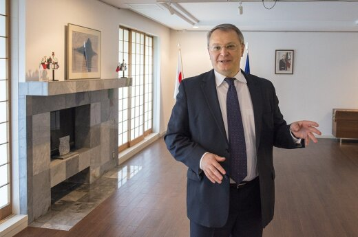 Lithuanian Ambassador to Japan Egidijus Meilunas Photo Ludo Segers