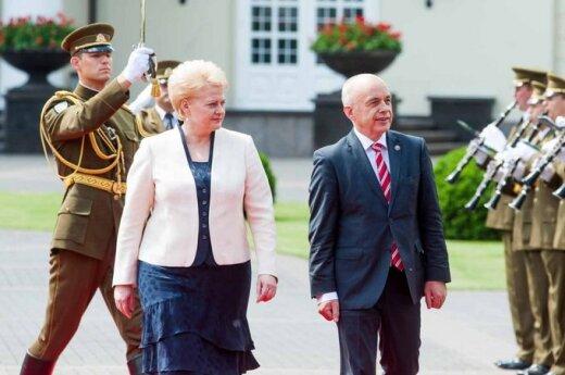 Grybauskaitė: Będę tam, gdzie będę najbardziej pożyteczna dla Litwy