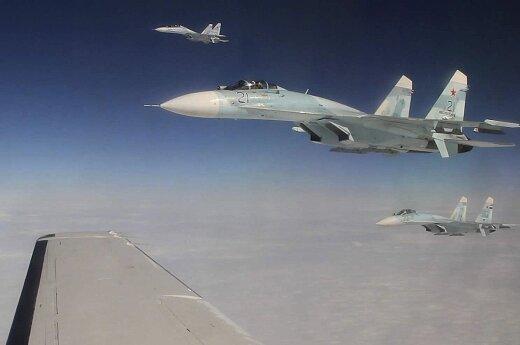 На прошлой неделе истребители НАТО один раз сопроводили российские военные самолеты