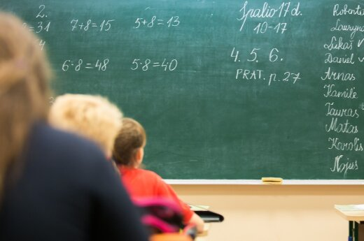 Septintokų mama: išėjus jaunai mokytojai, paaiškėjo blogybės mokykloje