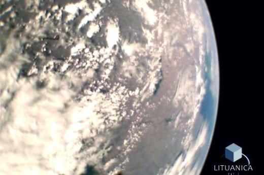 Image taken by LituanicaSAT-1