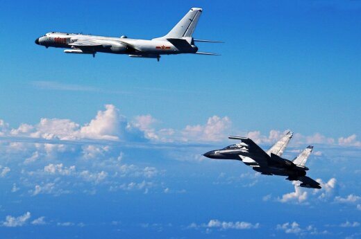 Япония подняла истребители на перехват китайских самолетов