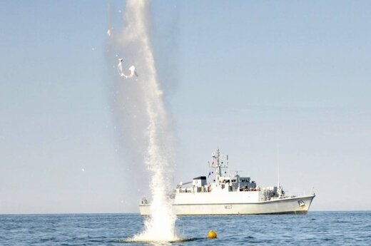 8 naval mines and three shipwrecks discovered during Baltic Sea operation
