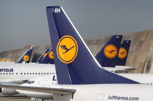 Lufthansa отменила полеты из Вильнюса