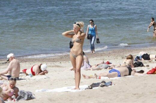 Установили самый опасный пляж в Клайпеде