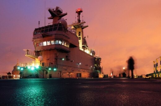 Mistral class ship