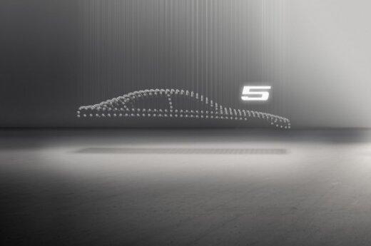 BMW 5-os serijos modelio užuomina