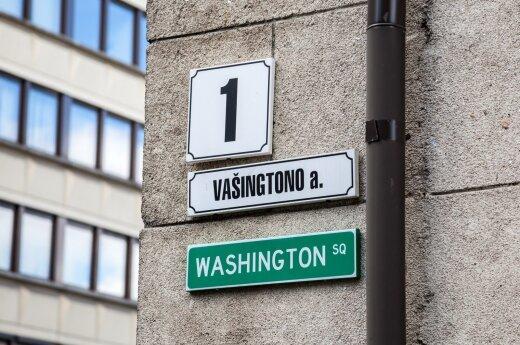 Washington Sq. in Vilnius