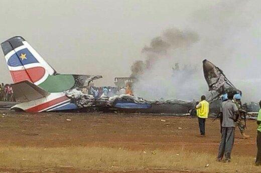 В Южном Судане разбился самолет с 44 пассажирами на борту