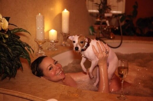 Mariah Carey normalna w domu