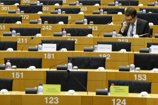 Who are most active and passive Lithuanian MEPs