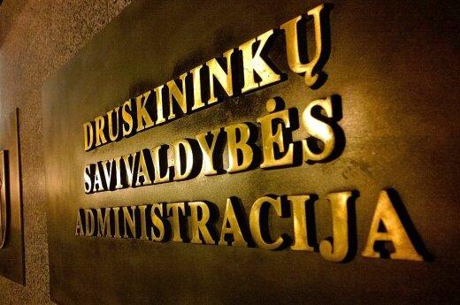 В Друскининкай – еще один скандал