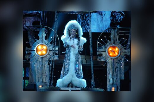 Cher koncertas Belfaste (Šiaurės Airija)