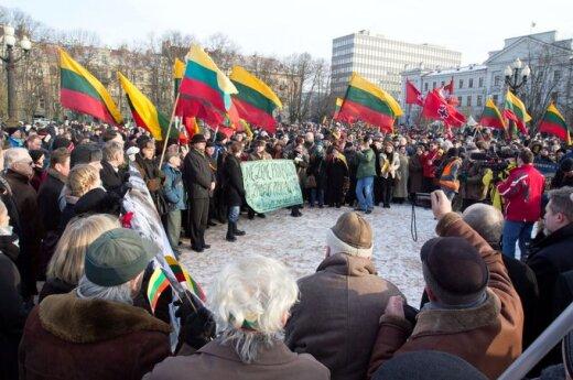 Eilėmis - apie Kovo 11-osios eitynes ir Lietuvos pilietybės suteikimą