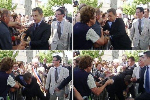 Užpultas N.Sarkozy