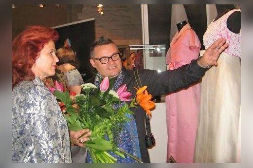 Открытие выставки А.васильева в Риге