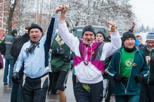 В Вильнюсе - забег в честь защитников свободы