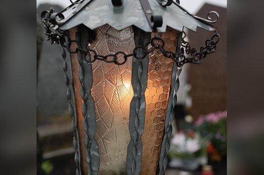Žvakė, rimtis, ramybė, kapinės