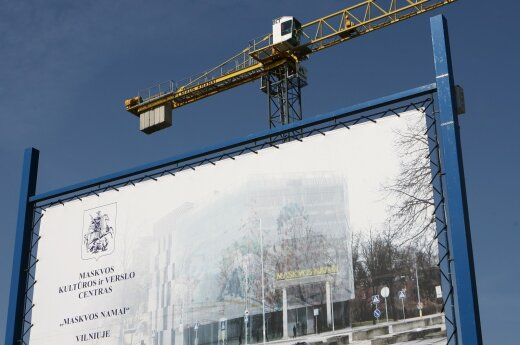 Moscow House construction in Vilnius stalling despite push from Russia