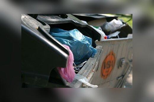 В Вильнюсе у мусорного контейнера найден младенец