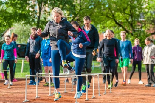 Olimpietis pataria: norint nubėgti greičiau, iš pradžių reikia bėgti lėčiau