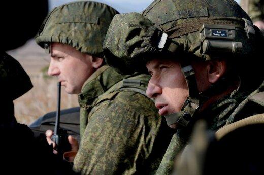 Rusija prakalbo apie karines bazes toli už šalies ribų