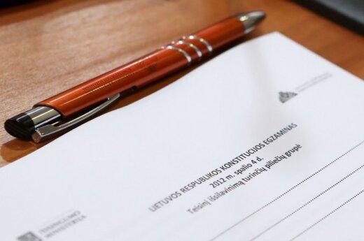Egzamin z Konstytucji był łatwiejszy niż w ubiegłym roku